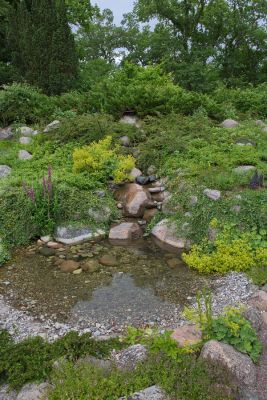 In den Gärten von Solliden-Schloß