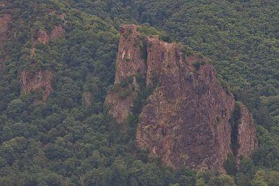Die Burg an der Klippe
