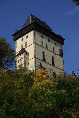 Turm Burg Karlstein